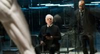 Anthony Hopkins, left, and Jeffrey Wright man the production of