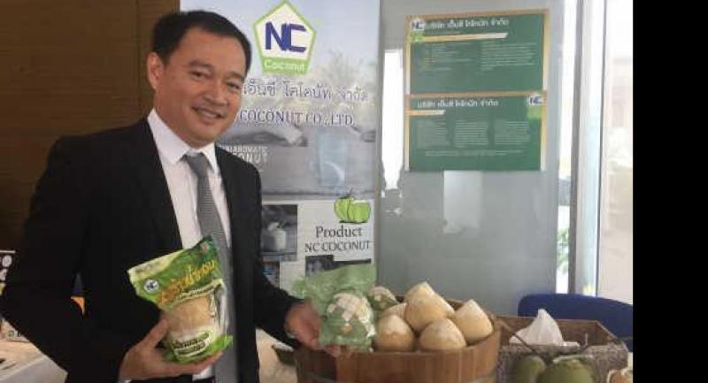 Narongsak Chuensuchon, founder and managing director of NC Coconut.