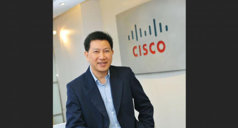 Vatsun Thirapatarapong, managing director for Cisco in Thailand and Indochina