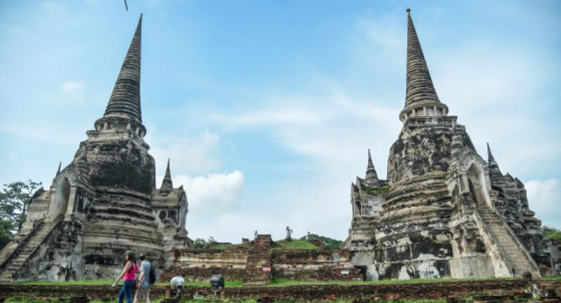 International conservation experts gathered in Ayutthaya recently for a symposium on the conservation of brick monuments. Nation/Chalinee Thirasupa