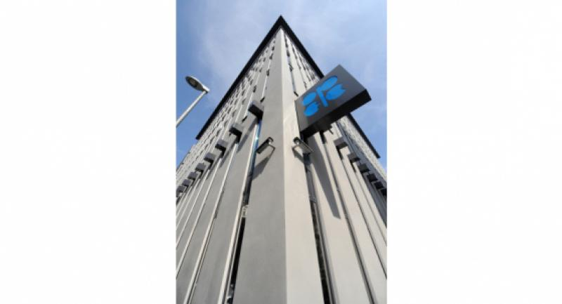 (FILES) An exterior view dated 13 September 2010 showing the headquarters of the Organization of Petroleum Exporting Countries (OPEC) in Vienna, Austria. /EPA