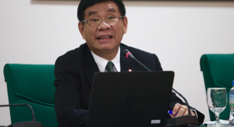 File photo: EC commissioner Somchai Srisuthiyakorn.