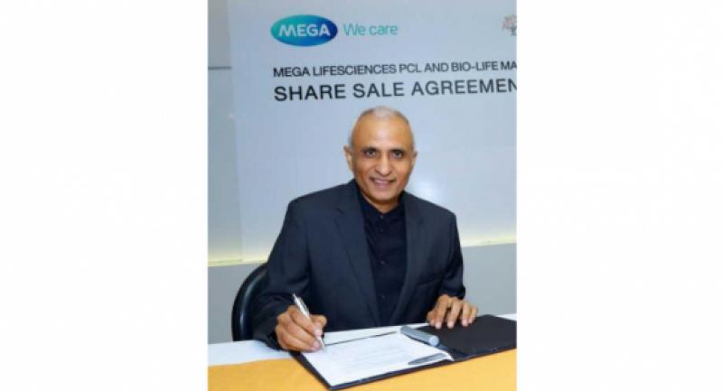 Vivek Dhawan, chief executive officer and chief coach of Mega Lifesciences.