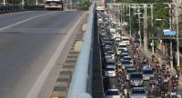 There was severe traffic congestion at Bangkok