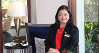 May Myat Mon Win, chairperson of Myanmar Tourism Marketing.