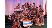 Cheerleading is one of the sport disciplines to receive a provisional recognition from IOC.