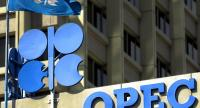 (FILE) A file picture dated 03 July 2001 showing the OPEC logo and signage in Vienna, Austria./ EPA