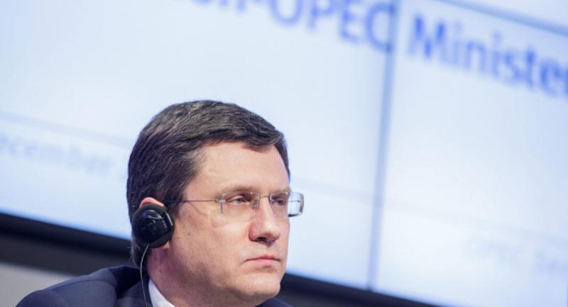 Russian Energy Minister Alexander Novak during a news conference after a meeting between the Organization of the Petroleum Exporting Countries (OPEC) and 12 non-OPEC member coutries in Vienna, Austria, 10 December 2016. /EPA