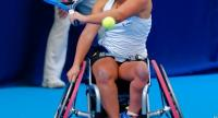 File photo: Wheelchair tennis player Yui Kamiji from Japan