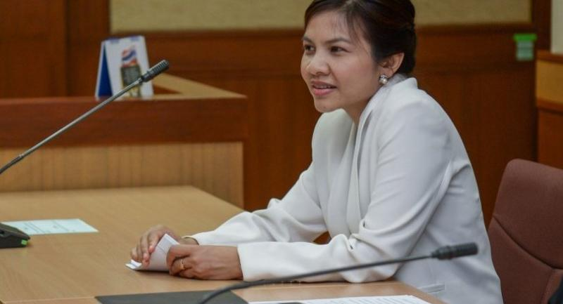 File photo: Supinya Klangnarong, a member of the National Broadcasting and Telecommunications Commission (NBTC).