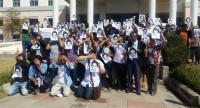 Pro-democracy activists and the parents of anti-junta activist Jatupat