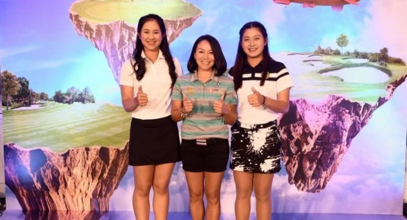 Pajaree Anannarukarn, Porani Chutichai and Atthaya Thitikul are three of the four Thais receiving sponsor invites into the Honda LPGA Thailand 2017.