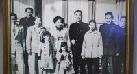 Sirin Phathanothai, third from right, is seen with then-prime minister of the People