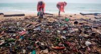 Greenpeace volunteers gather a truckload of garbage on Phuket