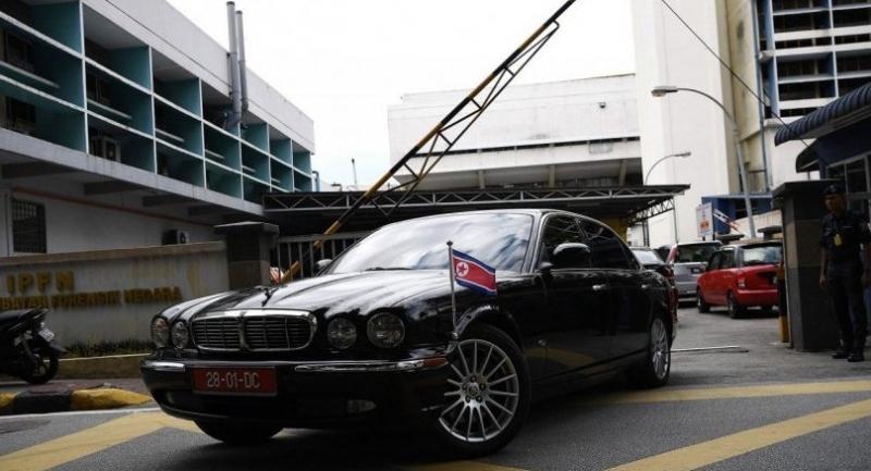 North Korean embassy cars seen at KL hospital mortuary
