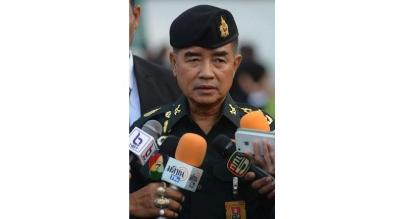 File photo: Army Chief Gen Chalermchai Sitthisart