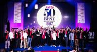 The winning chefs and restaurateurs celebrate at the fifth annual Asia