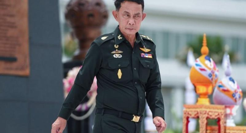 Gen Preecha Chan-o-cha, one of seven legislators allegedly found to be excessively absent from vote casting in law deliberation meetings