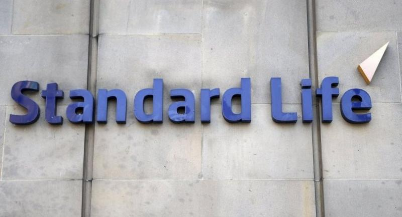 (FILE) - A file picture dated 11 September 2014 shows Standard Life's logo at its headquarters in Edinburgh, Scotland. /EPA