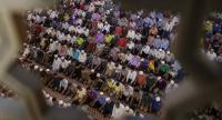 Malaysian Muslims during prayers at the National Mosque in Kuala Lumpur on March 10.  Malaysian Prime Minister Najib Razak has requested all Mosques in the country to hold special prayers for the safety of Malaysians in N Korea.//EPA