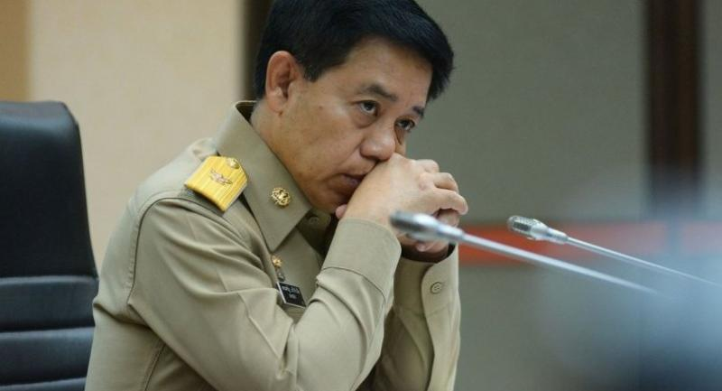 File photo: Government Spokesman Lt-General Sansern Kaewkamnerd