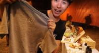 A sophomore at Bangkok University Jira Chanaboriboonchai is the youngest person to join the