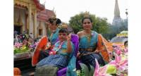 The traditional festivities were held in Chalong and Phuket Town. Photo: Chalong Municipality PR