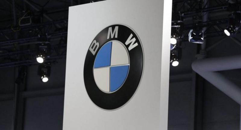 The BMW logo is seen the during media preview day at New York International Auto Show at the Jacob K. Javits Center in New York City, New York, USA, 12 April 2017. The show is open to the public from 14 April until 23 April 2017. EPA