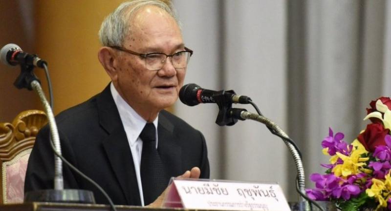 File photo:  Chief charter drafter Meechai Ruchupan.