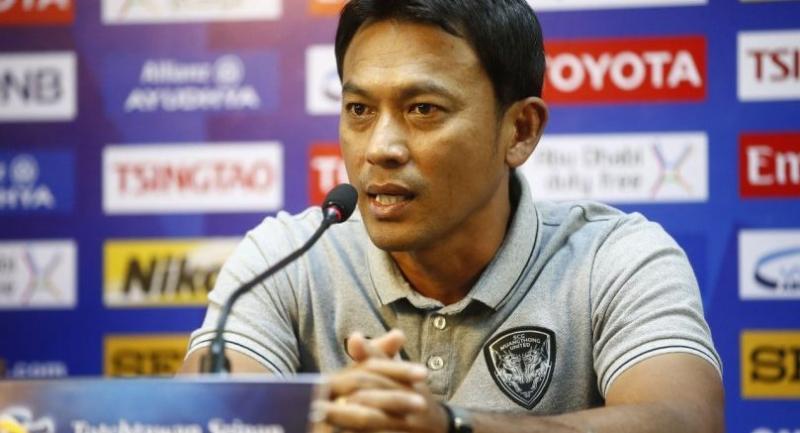 Muangthong United coach Totchtawan Sripan