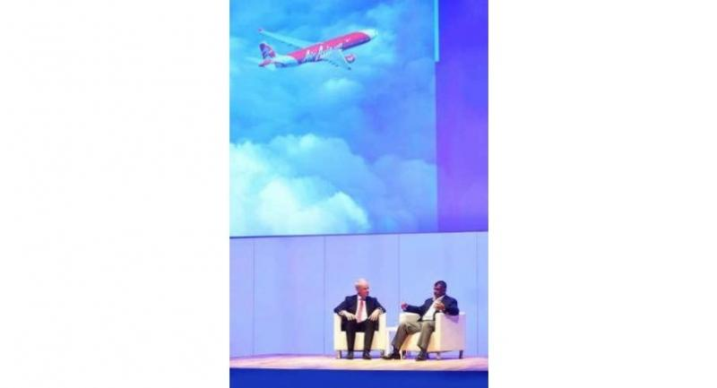 Tony Fernandes, group chief executive officer, AirAsia, shares his view at the WTTC 2017 Global Summit in Bangkok.