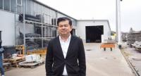 Pruksa Real Estate Plc's chief executive officer Piya Prayong visits Germanybased Regenold Kellerbau Gmbh, a precast manufacturing plant in German.