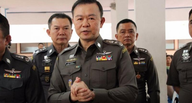 Immigration police chief Pol Lt-General Nathathorn Prousoontorn.