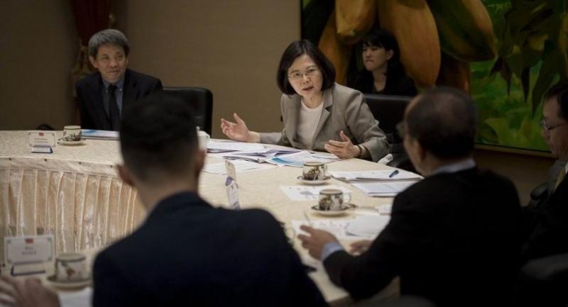 Taiwan's President Tsai Ingwen: Taiwan will play a proactive role in AsiaPacific region.