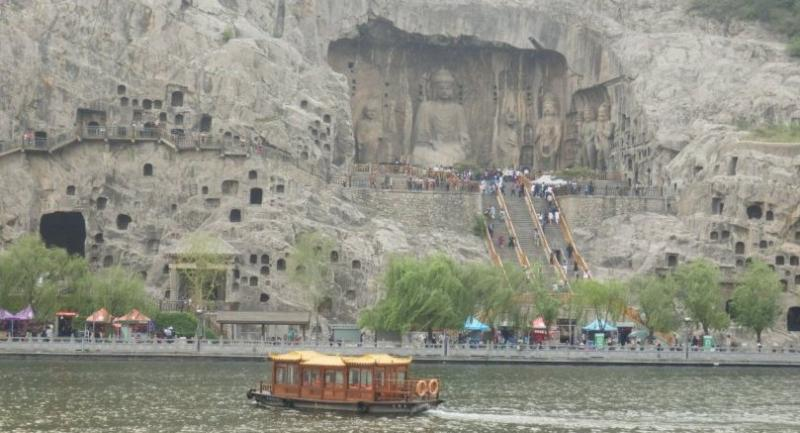 "The Longmen Grottoes are inscribed on the Unesco World Heritage List as ""an outstanding manifestation of human artistic creativity."""