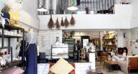 Fabric Living is a lifestyle shop where you can sip a cup of good coffee and enjoy shopping for casual apparel and bedding and natural-made skin care products.