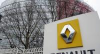 This file photo taken on January 18, 2013 shows a partial view of French car maker Renault's headquarters in Boulogne-Billancourt, west of Paris. / AFP PHOTO / BERTRAND GUAY