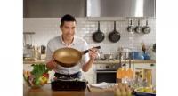 "TV celebrity Vuthithorn ""Woody"" Milintachinda is brand ambassador for the Korea King frying pan."