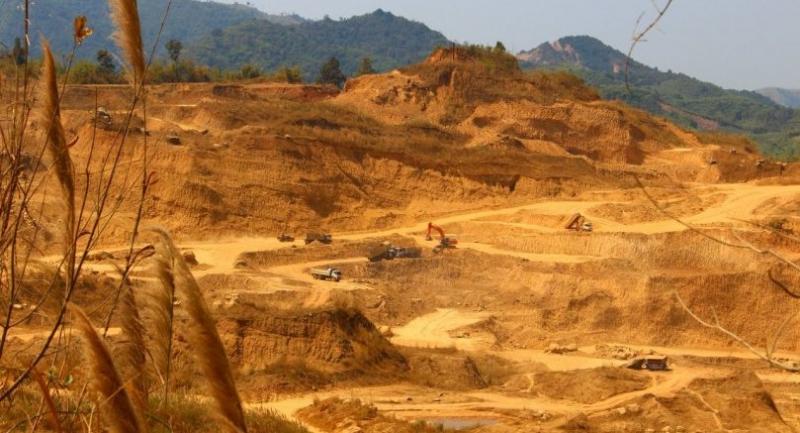 Thai mining company in Myanmar.