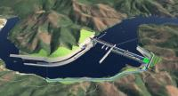 Proposed Pak Beng Hydropower dam in Laos (Photo credit: Pak Beng Hydropower Project )
