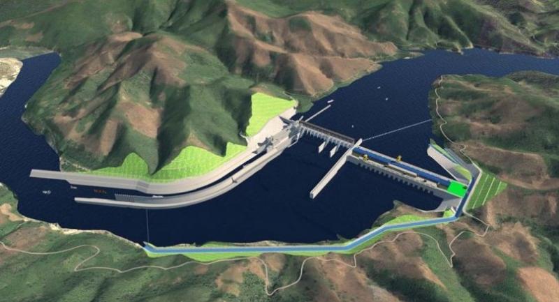 Proposed Pak Beng Hydropower dam in Laos (Photo credit: Pak Beng Hydropower Project )