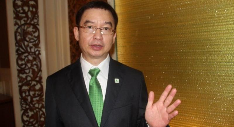 Pattanapong Tansomboon, first senior vice president of KBank.