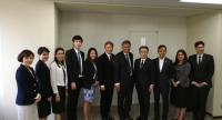Amata Corporation's Chairman, Dr Surin Pitsuwan led a Thai delegation to Yokohama City.