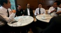 PDRC ex-leaders and Abhisit in a rare coffee meeting