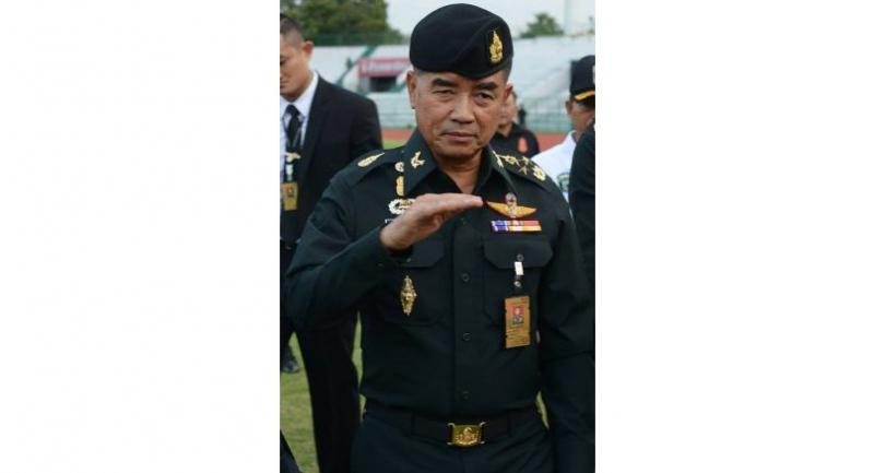 Army Commander-in-Chief General Chalermchai Sitthisart
