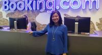 Parichat Haehnen, Booking.com's regional manager for Thailand, Indochina, and Myanmar at her firm's headquarters in Amsterdam.