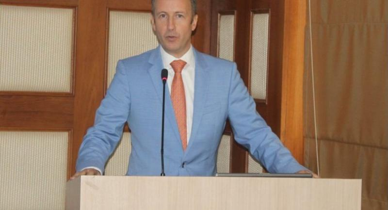 Wouter Jurgens, the Dutch ambassador to Myanmar, says he hopes business contracts will follow the business-matching event.