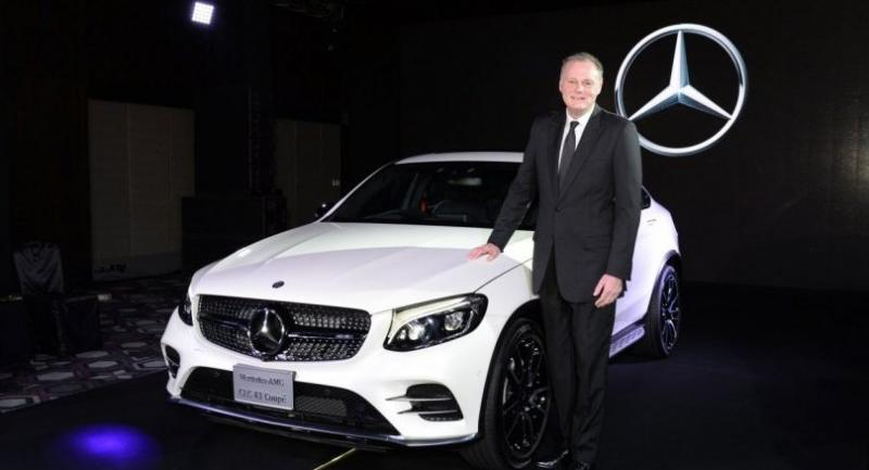 Michael Grewe, president and CEO of Mercedes-Benz (Thailand) Ltd.