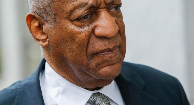 Bill Cosby arrives on the sixth day of jury deliberations of his sexual assault trial at the Montgomery County Courthouse on June 17, 2017 in Norristown, Pennsylvania.// AFP PHOTO / EDUARDO MUNOZ ALVAREZ