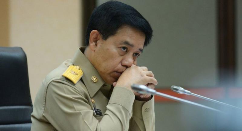Government Spokesman Lt-General Sansern Kaewkamnerd